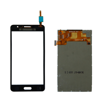 Touch Screen Digitizer Paneļa+LCD Displejs Foramsung Galaxy On5 SM-G550FY G550T1 G5500 TouchScreen Mobilo Smarphone Remonta Daļas